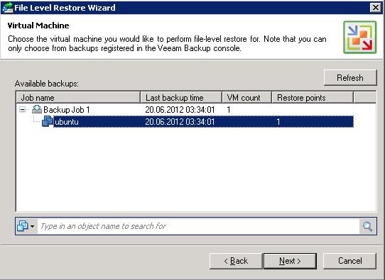 First Look: Veeam Backup & Replication 6 1   Virten net