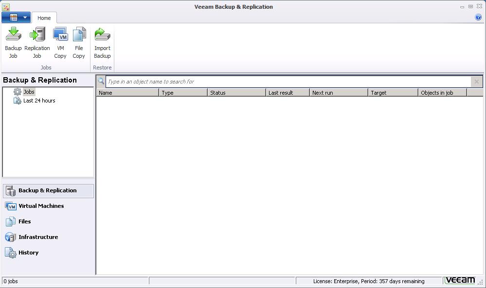 First Look: Veeam Backup & Replication 6 1 | Virten net