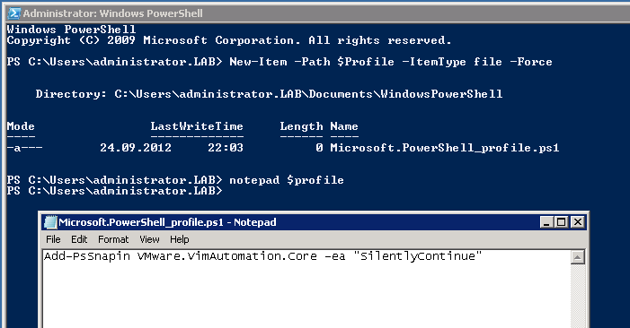 Getting Started with PowerCLI 5 1 and PowerShell 3 0