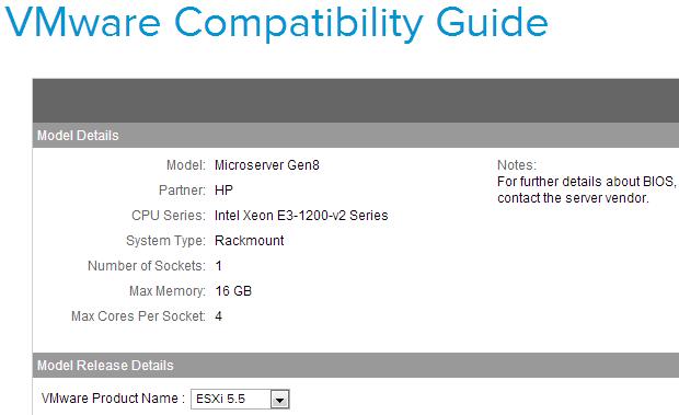 vSphere 5 Homelab – ESXi on HP Microserver Gen8 | Virten net