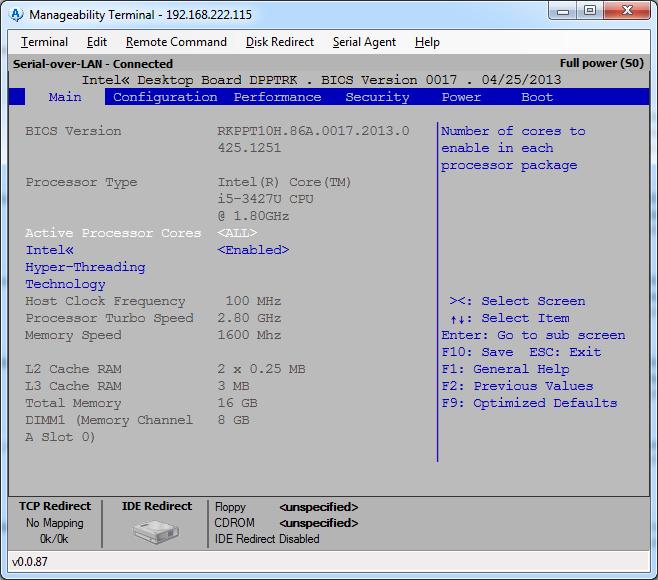 intel manageability developer toolkit binary options