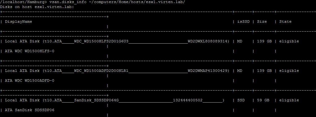 rvc-vsan-disk-info