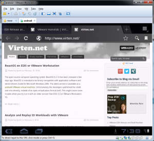android-vmware-workstation