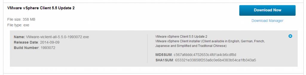 download-5-5-u2-vsphere-client