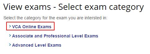 schedule-vca-online-exams