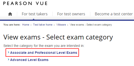 pearson-vue-vmware-associate-and-professional-exams