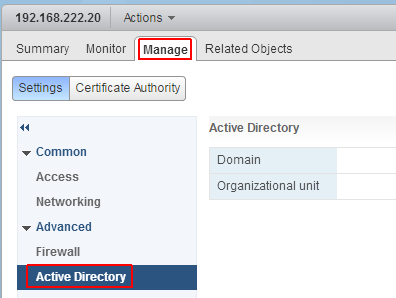 How to Join AD Domain in vCenter Server Appliance 6 0 (vCSA