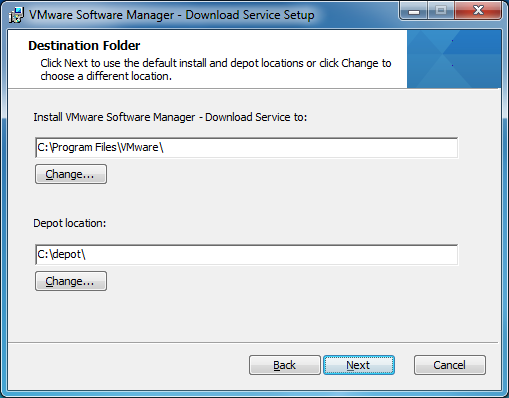 VMware-Software-Manager-depot-location