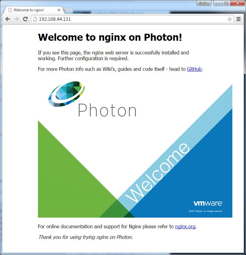vmware-photon-nginx