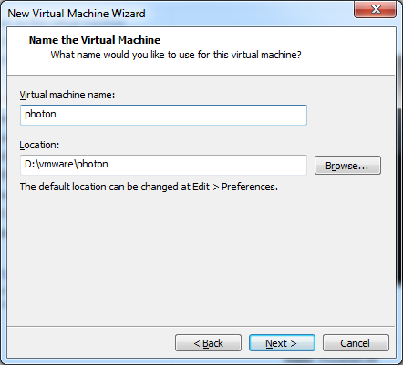 Guide to Install Photon in VMware Workstation and Deploy a Container