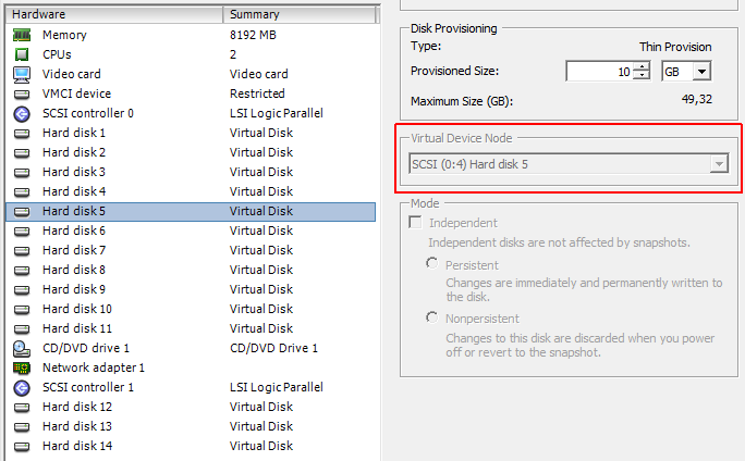 Match Linux SCSI Devices (sdX) to Virtual Disks in VMware | Virten net