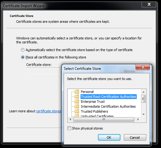 vcsa6-install-root-certificate-store