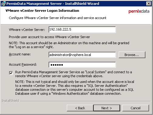 pernixdata-installation-vcenter-server-credentials