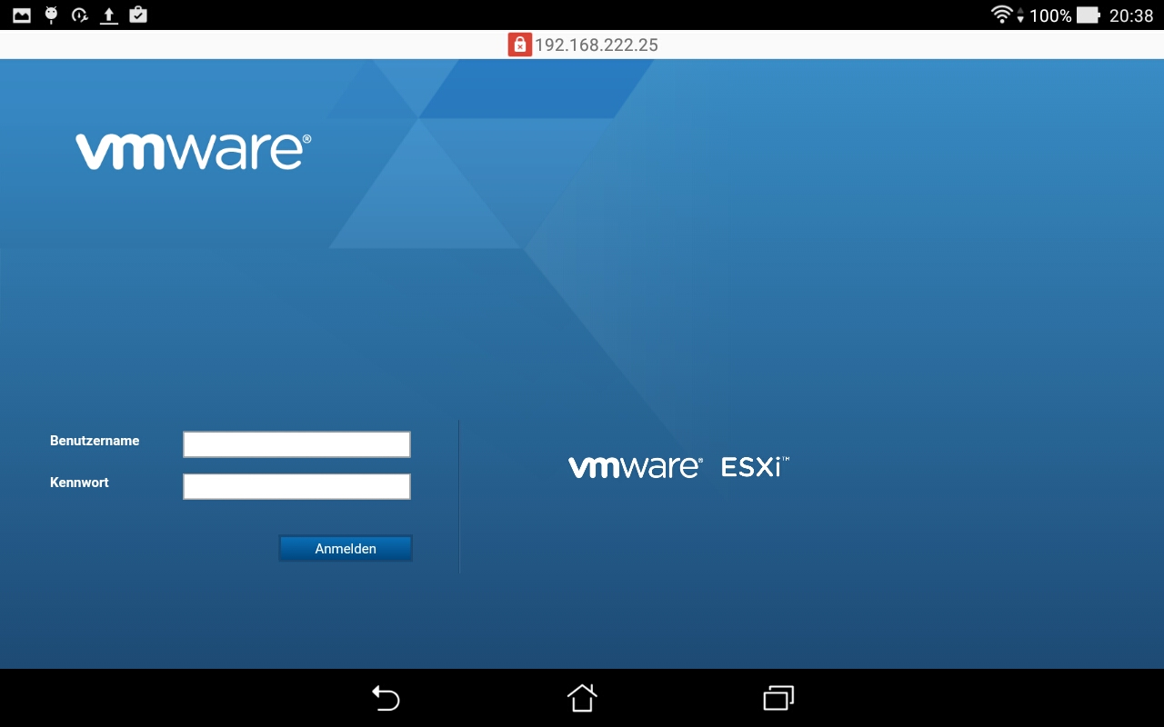 vmware-host-client-login
