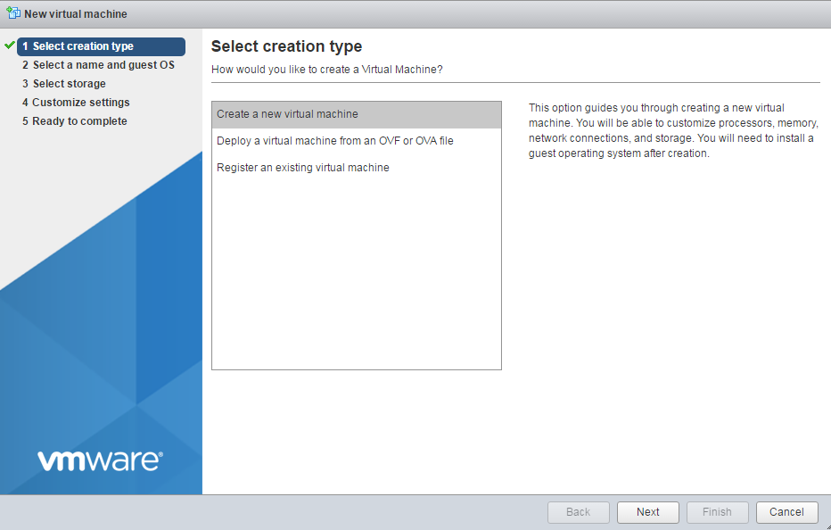 vmware-host-client-new-vm-type