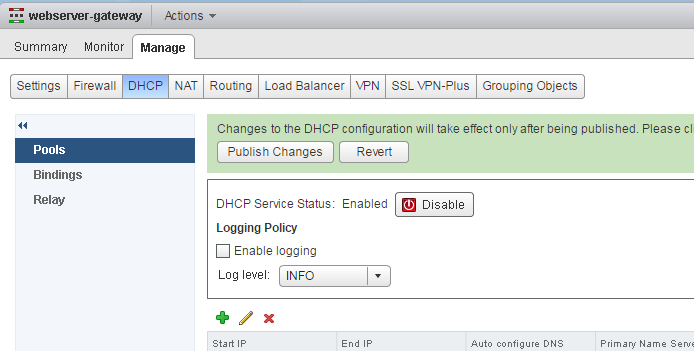 nsx-edge-enable-dhcp
