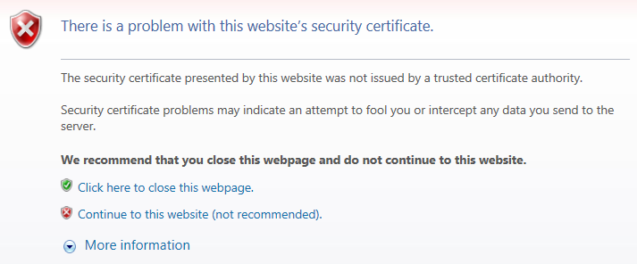 there-is-a-problem-with-this-security-certificate
