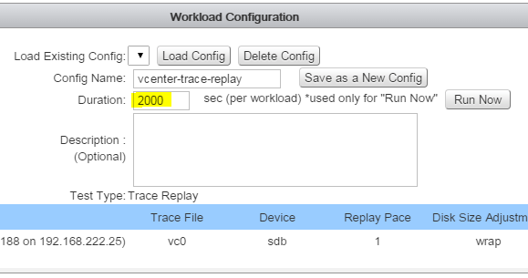 tracereplay-workload-configuration