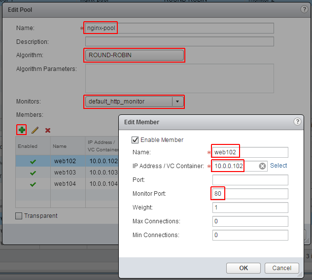 nsx-load-balancer-configure-webserver-pool