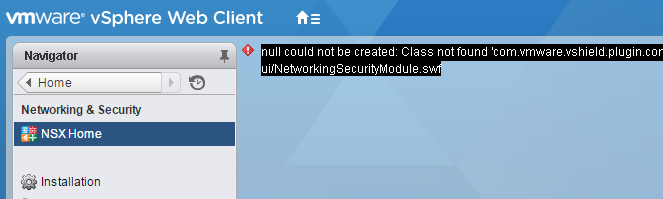 nsx-null-could-not-be-created