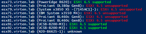 esxi65-check-support-powercli-output