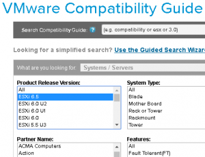 VMware ESXi 6 5 – Hardware not yet certified for upgrade