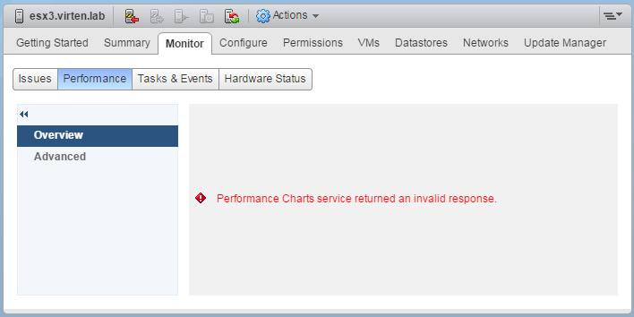 Vmware Vapi Endpoint Service Health Alarm
